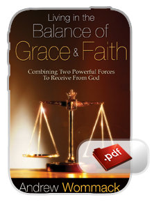 Living In The Balance of Grace and Faith E-book (pdf)